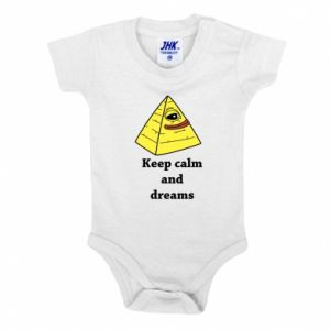 Body dziecięce Keep calm and dreams