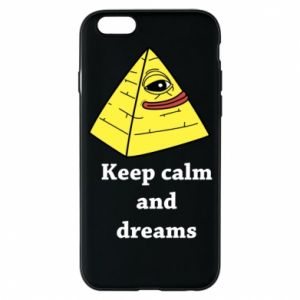 Etui na iPhone 6/6S Keep calm and dreams
