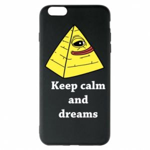 Etui na iPhone 6 Plus/6S Plus Keep calm and dreams