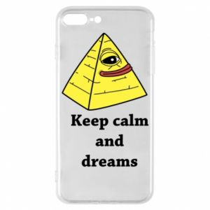 Etui do iPhone 7 Plus Keep calm and dreams