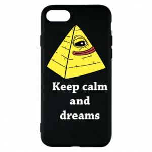 Etui na iPhone 8 Keep calm and dreams