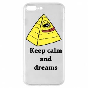 Etui na iPhone 8 Plus Keep calm and dreams
