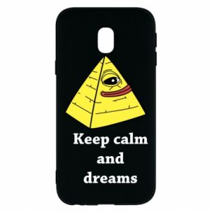Etui na Samsung J3 2017 Keep calm and dreams