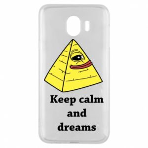 Etui na Samsung J4 Keep calm and dreams