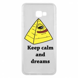 Etui na Samsung J4 Plus 2018 Keep calm and dreams