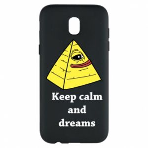 Etui na Samsung J5 2017 Keep calm and dreams