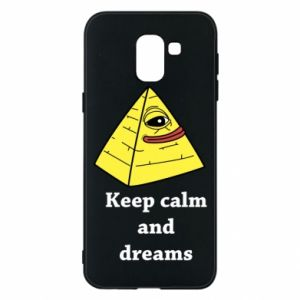 Etui na Samsung J6 Keep calm and dreams