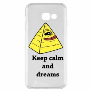 Etui na Samsung A5 2017 Keep calm and dreams