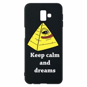 Etui na Samsung J6 Plus 2018 Keep calm and dreams