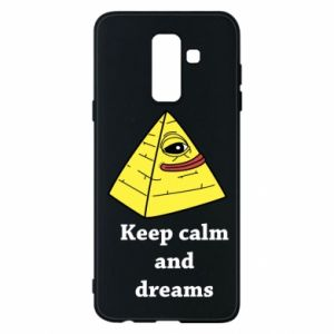 Etui na Samsung A6+ 2018 Keep calm and dreams