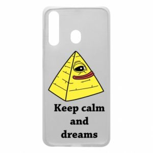 Etui na Samsung A60 Keep calm and dreams