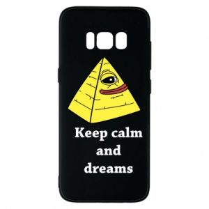 Etui na Samsung S8 Keep calm and dreams