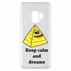 Etui na Samsung S9 Keep calm and dreams