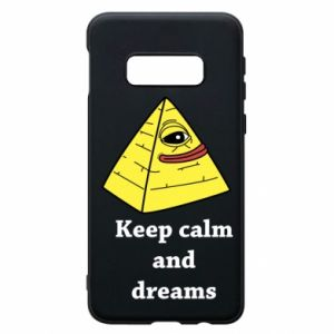 Etui na Samsung S10e Keep calm and dreams