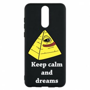 Etui na Huawei Mate 10 Lite Keep calm and dreams