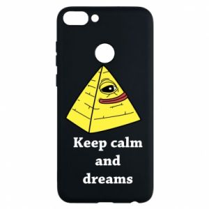 Etui na Huawei P Smart Keep calm and dreams