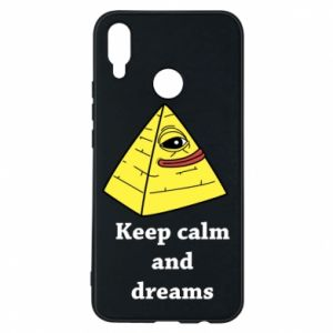 Etui na Huawei P Smart Plus Keep calm and dreams