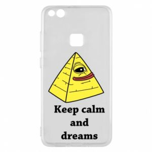 Etui na Huawei P10 Lite Keep calm and dreams