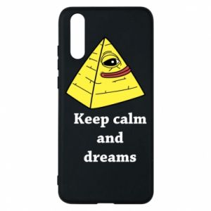 Etui na Huawei P20 Keep calm and dreams