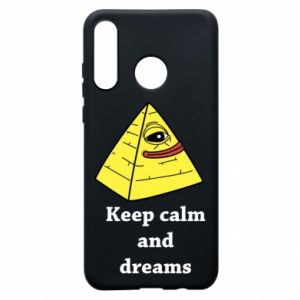 Etui na Huawei P30 Lite Keep calm and dreams