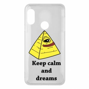 Etui na Mi A2 Lite Keep calm and dreams