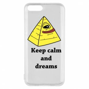 Etui na Xiaomi Mi6 Keep calm and dreams