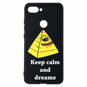 Etui na Xiaomi Mi8 Lite Keep calm and dreams