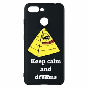 Etui na Xiaomi Redmi 6 Keep calm and dreams
