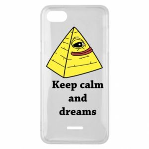 Etui na Xiaomi Redmi 6A Keep calm and dreams
