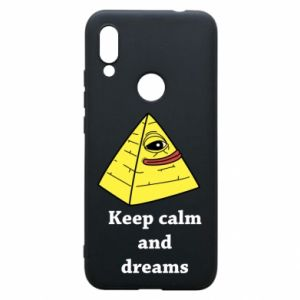 Etui na Xiaomi Redmi 7 Keep calm and dreams