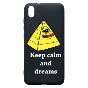 Etui na Xiaomi Redmi 7A Keep calm and dreams
