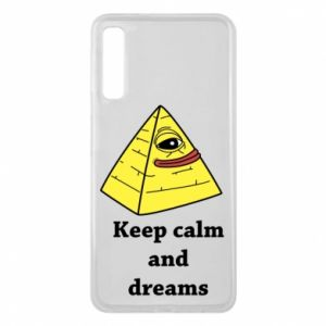 Etui na Samsung A7 2018 Keep calm and dreams
