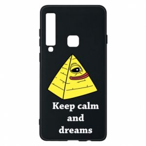 Etui na Samsung A9 2018 Keep calm and dreams