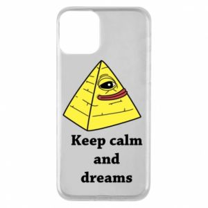 Etui na iPhone 11 Keep calm and dreams