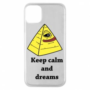 Etui na iPhone 11 Pro Keep calm and dreams