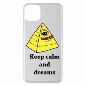 Etui na iPhone 11 Pro Max Keep calm and dreams