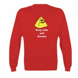 Bluza dziecięca Keep calm and dreams