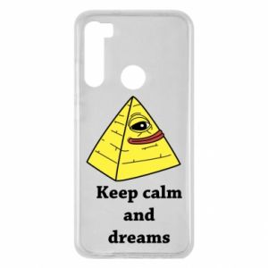Etui na Xiaomi Redmi Note 8 Keep calm and dreams