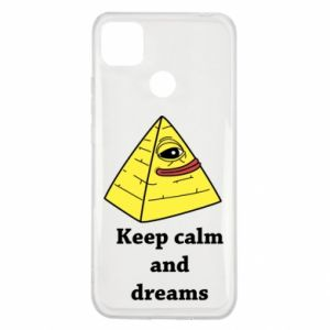 Etui na Xiaomi Redmi 9c Keep calm and dreams