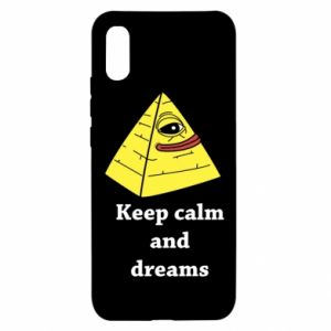 Etui na Xiaomi Redmi 9a Keep calm and dreams