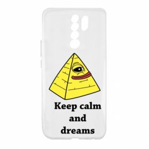 Etui na Xiaomi Redmi 9 Keep calm and dreams