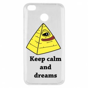 Etui na Xiaomi Redmi 4X Keep calm and dreams
