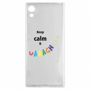 Sony Xperia XA1 Case Keep calm & waaagh!!!