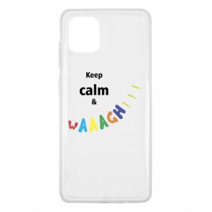 Samsung Note 10 Lite Case Keep calm & waaagh!!!