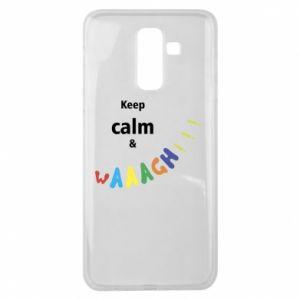 Samsung J8 2018 Case Keep calm & waaagh!!!
