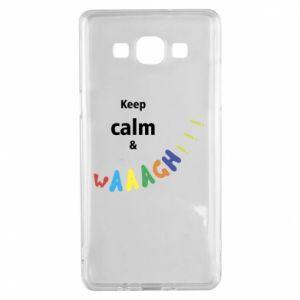 Samsung A5 2015 Case Keep calm & waaagh!!!