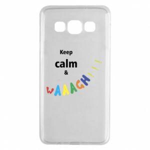 Samsung A3 2015 Case Keep calm & waaagh!!!