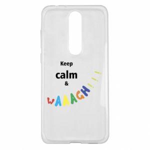 Nokia 5.1 Plus Case Keep calm & waaagh!!!