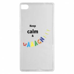 Huawei P8 Case Keep calm & waaagh!!!