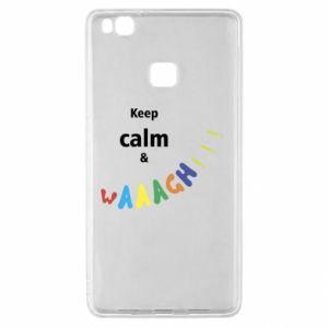 Huawei P9 Lite Case Keep calm & waaagh!!!